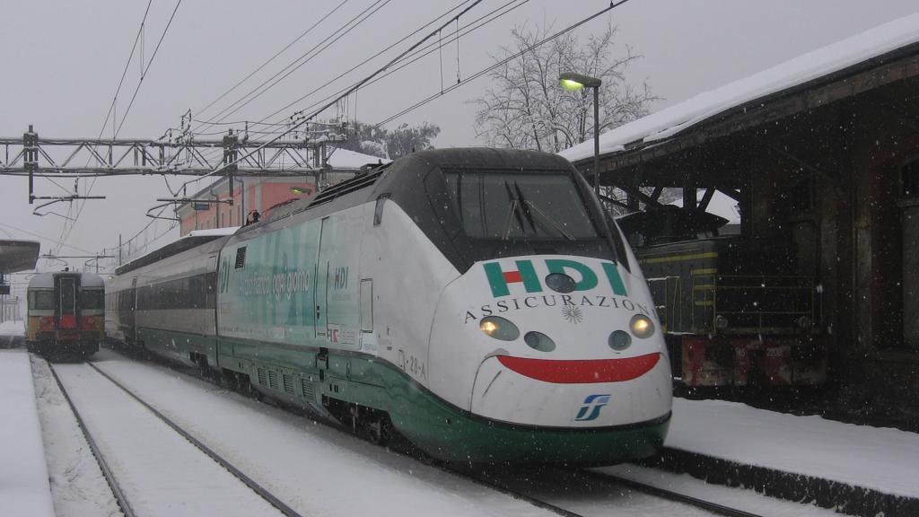 Etr500 treno 28 Casalpusterlengo