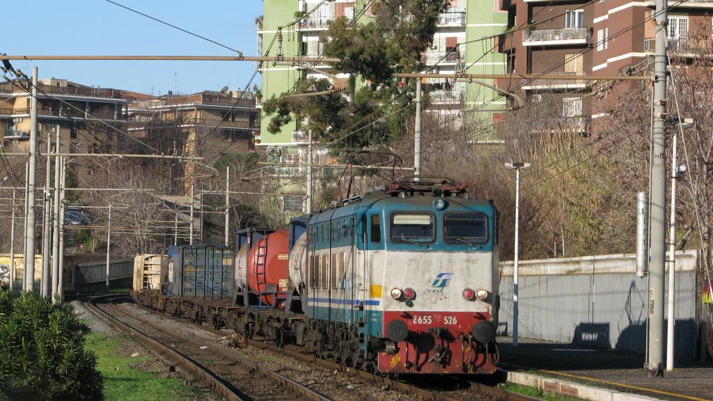 E655 526 Roma Trastevere
