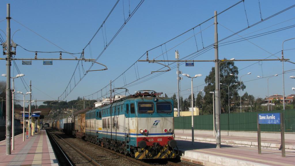 E655 410 Roma Aurelia