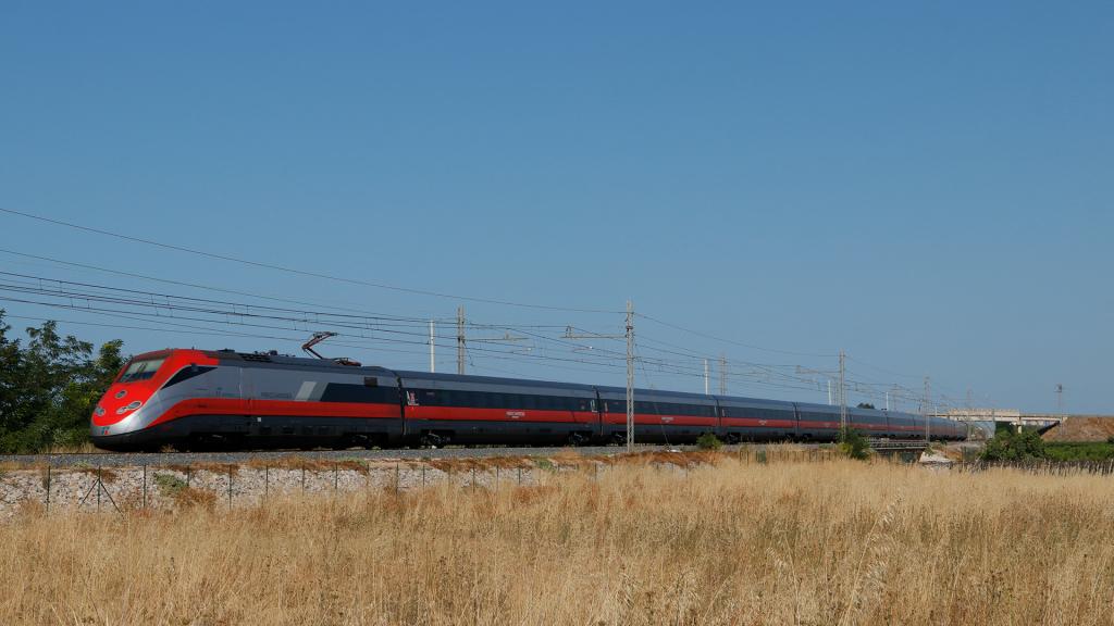 ETR 500 treno 31 Barletta